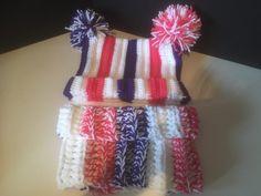 Aubrey's Striped Cowl – Stitched Pixels