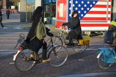 Morning rush hour, Rijksmuseum, central Amsterdam Street Ballet, Oxford Brookes University, Design Fields, Rush Hour, Travel Organization, Amsterdam, Cycling, Biking, Bicycling
