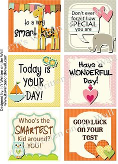 Free Valentine's Day Lunchbox Notes available now 36 in the set