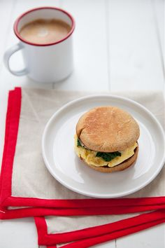 Egg Sandwich with Spinach and Gouda–Annie's Eats