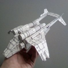 Tektonten Papercraft - Free Papercraft, Paper Models and Paper Toys: Warhammer Papercraft - Valkyrie Assault Carrier Paper Toys, Paper Crafts, Kid Crafts, Cultura Maker, Warhammer 40k Tabletop, Paper Aircraft, 3d Cnc, Sci Fi Models, Paper Magic
