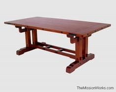 Greene and Greene , Gamble house, Mission Furniture , Mission Dining room ...themissionworks.com