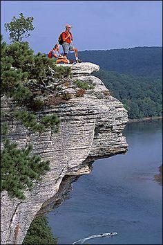 Calico Rock on the White River, Arkansas