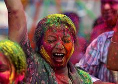 Holi, the Festival of Colour, India Someday I want to do this- it sounds so awesome! :)