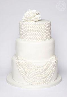 Pearl (Perle) Cake   Wedding Cake   Jenna Rae Cakes