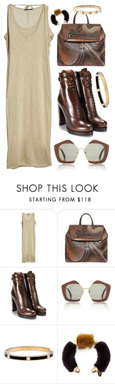 """NATURAL FABU WUT"" by mitchelcrandell ❤ liked on Polyvore featuring Bruuns Bazaar, Deglupta, Marni and Henri Bendel"