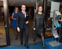 On November 07, 2015, Crown Princess Victoria of Sweden and Prince Daniel attended the aid concert 'Playing for Life' for refugees in Europe in Berwaldhallen.