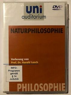 Naturphilosophie DVD    eBay Ebay, Philosophy