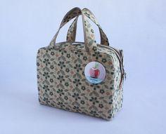Lunchbox  'Maleta Floral Bege'