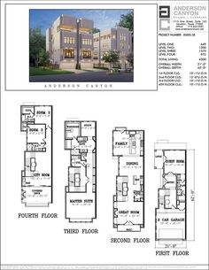 GREAT TOWN CAN WITH THIS FLOOR PLAN OR CHANGE TO A MORE TRADITIONAL; FLOORPLAN