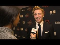 ''Trouser Ripping Fun!'' Jack Lowden On Set Of Tommy's Honour - YouTube