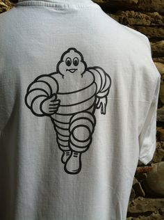 Authentic Michelin own brand levels. Oversized print to back. Icey No rips, tears or discolouring. Thread is pristine Medium/ Large Top to bottom- Pit to p Michelin Man, Medium, Nice, Mens Tops, Hair, Fashion, Moda, Fashion Styles, Nice France