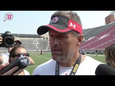 Clips and Interview from University of Utah Football Camp scrimmage game, we talk with Coach Kyle Whittingham.    http://utahutes.cstv.com/sports/m-footbl/spec-rel/081412aaa.html