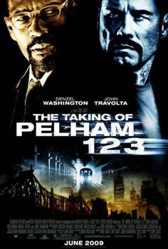 THE TAKING OF PELHAM 1 2 3 (2009): Armed men hijack a New York City subway train, holding the passengers hostage in return for a ransom, and turning an ordinary day's work for dispatcher Walter Garber into a face-off with the mastermind behind the crime.♧