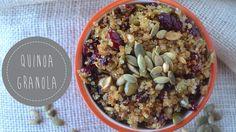 Quinoa Granola - Fit Foodie Finds