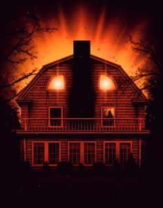 The Amityville Horror / House The Amityville Horror House, Horror Posters, Horror Films, Horror Art, Horror Icons, Movie Posters, Halloween Horror, Halloween Art, Monsters