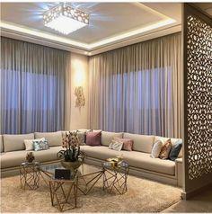 Enhance Your Senses With Luxury Home Decor Ceiling Design Living Room, Home Room Design, Home Interior Design, Living Room Designs, Drawing Room Ceiling Design, Luxury Home Decor, Luxury Homes, Modul Sofa, Elegant Living Room