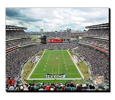 Philadelphia Eagles Lincoln Financial Field Canvas Framed Over With 2 Inches Stretcher Bars-Ready To Hang- Awesome & Beautiful