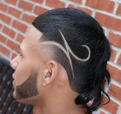 Mens Braids Hairstyles, Cool Hairstyles For Men, Haircuts For Men, Textured Haircut, Fade Haircut, Hair And Beard Styles, Curly Hair Styles, Haare Tattoo Designs, Hair Designs For Boys