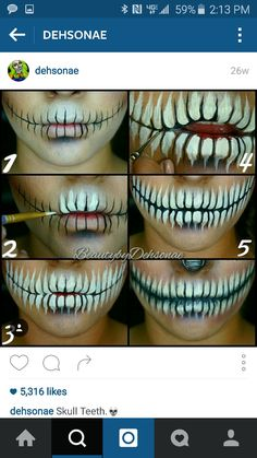 How to on teeth!