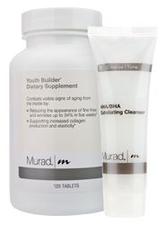 Youth Builder by Murad - recommended on Today show- Glucosamine, amino acid complex and Vitamin A work to boost collagen production, support connective tissue and stimulate healthy cell renewal to promote improved strength, clarity and tone.