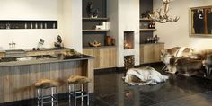 tinello keuken advertentie massief houten keuken keuken steigerhout aanrecht natuursteen kookeiland tinello