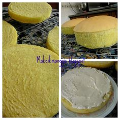 jom masak, jom makan makan..: Snow Cheese Cake