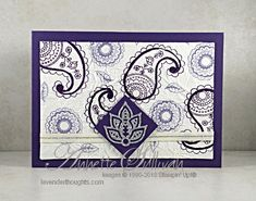 Faux Silk with Post Script and Paisley & Posies + VIDEO – Lavender Thoughts
