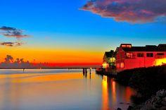 Thanks to CaP. G for taking this beautiful picture of FishVille.  Fishermans Village, Punta Gorda, FL