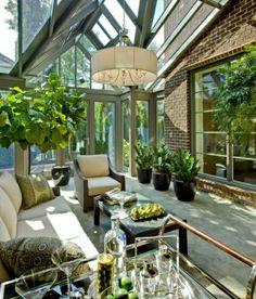 Wintergarten Selber Bauen Rattanmöbel | Jardín Interior | Pinterest Richtige Einrichtung Wintergartens