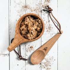 Handcrafted Traditional Wooden Spoon Uberleben Dursten Kanu Spoon Camping Backpacking or Bushcraft Lightweight /& Eco-Friendly