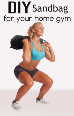 The sandbag is a must have equipment for your home gym arsenal. While, there are… - GYM workout Diy Sandbags, Gym Workouts, At Home Workouts, Training Workouts, Workout Exercises, Running Training, Training Tips, Diy Home Gym, Home Workout Equipment