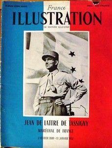 Jean De Lattre De Tassigny France Illustration - Le Monde Illustré N° 203 du 1er trimestre 1952 - Album hors série.