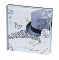 Photo Album - Top Hat / Tiara Wedding - 200 Photos 5055180438452 on eBid United Kingdom