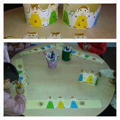 O mundo é das crianças: Dia de Reis Christmas Crafts, Xmas, Christmas Ornaments, Happy Three Kings Day, Preschool Crafts, Crafts For Kids, Activities For 2 Year Olds, Three Wise Men, Happy Kids