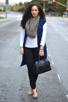 Plus size winter outfits, pear shape fashion, fall outfits, outfits vorschl Autumn Fashion Curvy, Plus Size Fall Fashion, Curvy Girl Fashion, Work Fashion, Cheap Fashion, Winter Fashion, Fashion Fashion, Fashion 2018, Curvy Girl Style