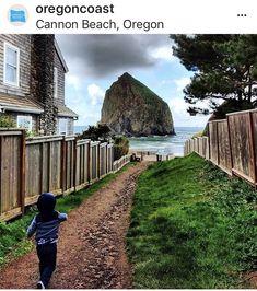 Oregon Road Trip, Cannon Beach, Railroad Tracks, Train Tracks