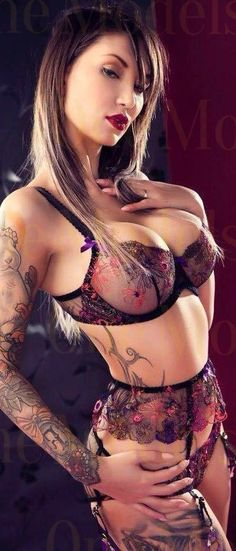 Crazy Hot ~ SchoolGirl❤Tart by mandy Sexy Tattoos, Girl Tattoos, Hot Tattoo Girls, Gary Glamour, Up Girl, Inked Girls, Tattoed Girls, Sensual, Female Bodies
