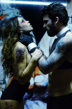 Charlye Madison Wproject: Dimitris Alexandrou and Vaso Vilegas star in TattooFactory by Tassos Vrettos