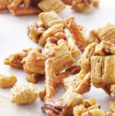 Sweet 'N' Salty Pecan Crunch!!  I have an addiction to this stuff!!!!!