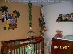 Crafts~N~Things for Children: Jungle Safari Nursery