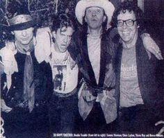 Stevie Ray Vaughan and Double Trouble -  June 16,1985 after the show