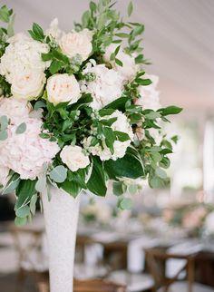 Featured Photographer: Marni Rothschild Pictures; wedding centerpiece idea
