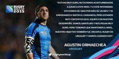 Agustín Ormaechea, #URU #VamosTeros #LosTeros el estratega de @RugbyUruguay #RWC2015