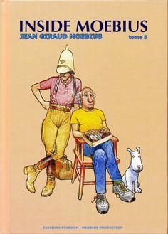 """Moebius - Cover """"Inside Moebius"""" Volume 5 - Stardom Editions, 2008"""