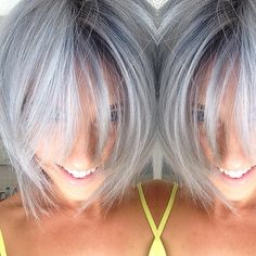 Grey! Try Blondor, tone with 10/1 (Illumina) and 4 in of /11 (no special mix) Relights to seal either /18 or /86 1.9%