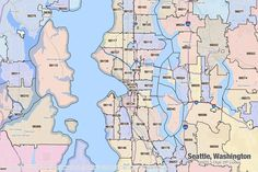 Seattle Map Wa.8 Best Seattle Maps Images Seattle Map Blue Prints Cards