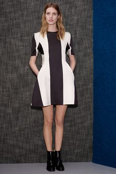 Stella McCartney: Pre-Fall 2013- Love at first sight! What she does best- the bold, graphic dress.