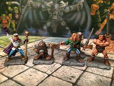 HeroQuest Heroes by Brush Stroke
