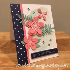 Botanical Builder Framelits Dies, Handmade Cards, Paper Crafts, Stampin' Up! Cards